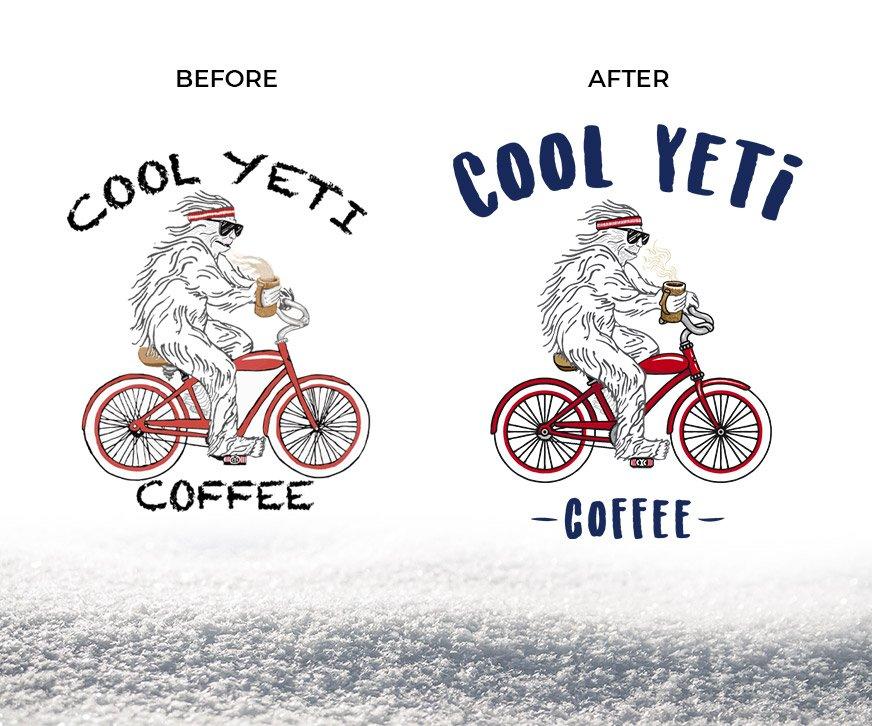 Cool Yeti Coffee Redesign